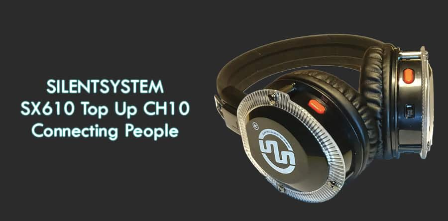 Lancio Cuffie SX610 Top Up Silentsystem
