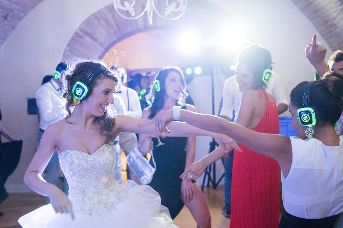 Matrimonio Silentparty